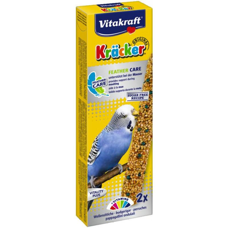 Крекер VITACRAFT для волнистых попугаев в период линьки