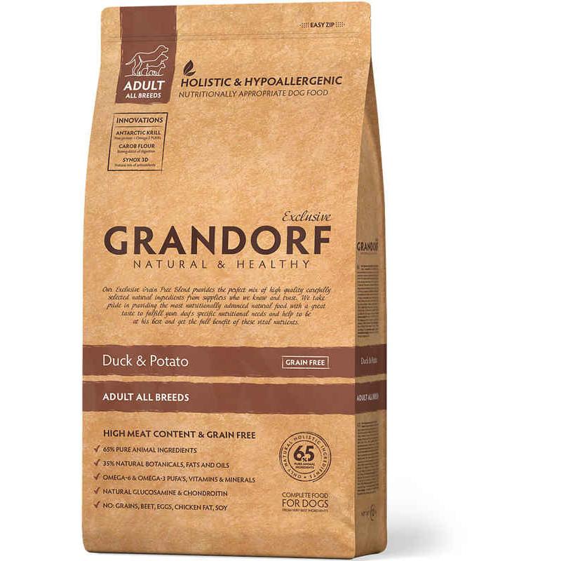 Grandorf (Грандорф) Holistic Duck & Potato - Утка с картофелем для всех пород