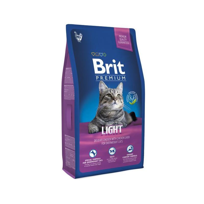Brit Premium (Брит Премиум) Cat Light - Сухой корм с курицей для кошек с избыточным весом