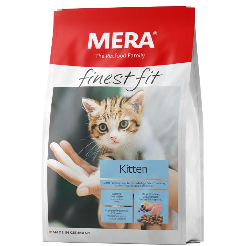 Mera (Мера) Finest fit Kitten. Сухой корм с курицей и индейкой для котят