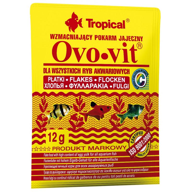 Корм TROPICAL OVO-VIT для рыб с яичным желтком