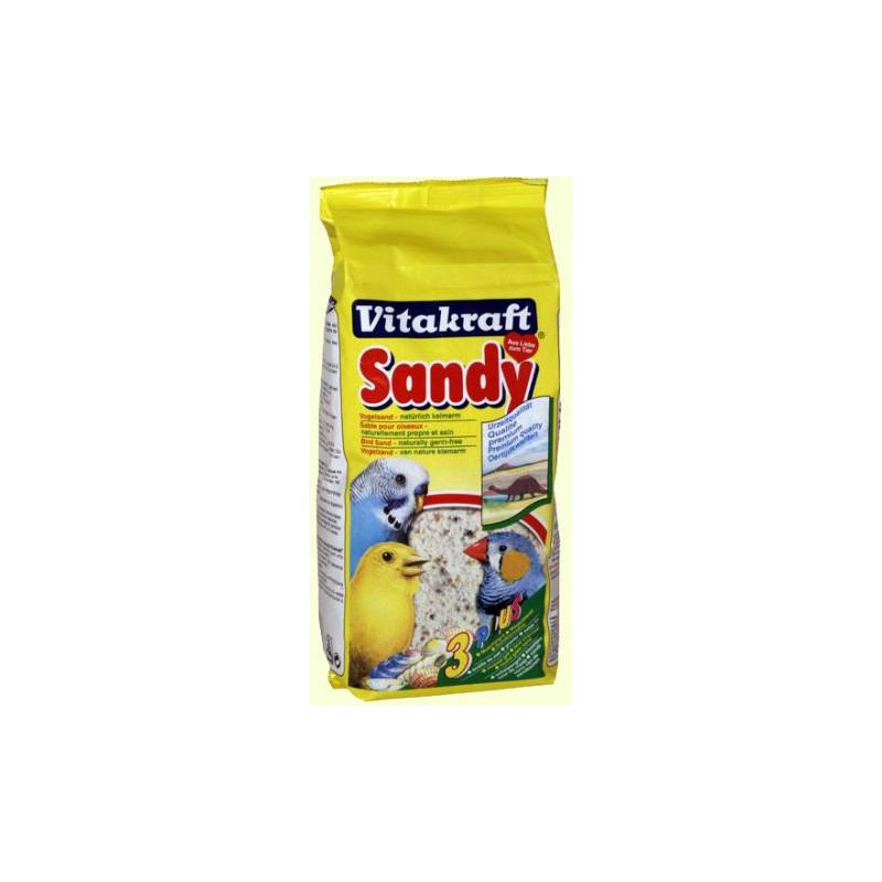 Песок VITACRAFT SANDY 3 plus для птиц