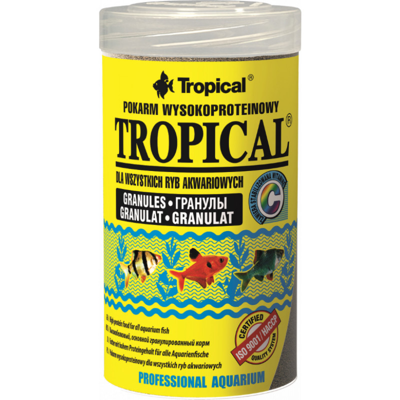 Корм TROPICAL GRANULAT для рыб в гранулах