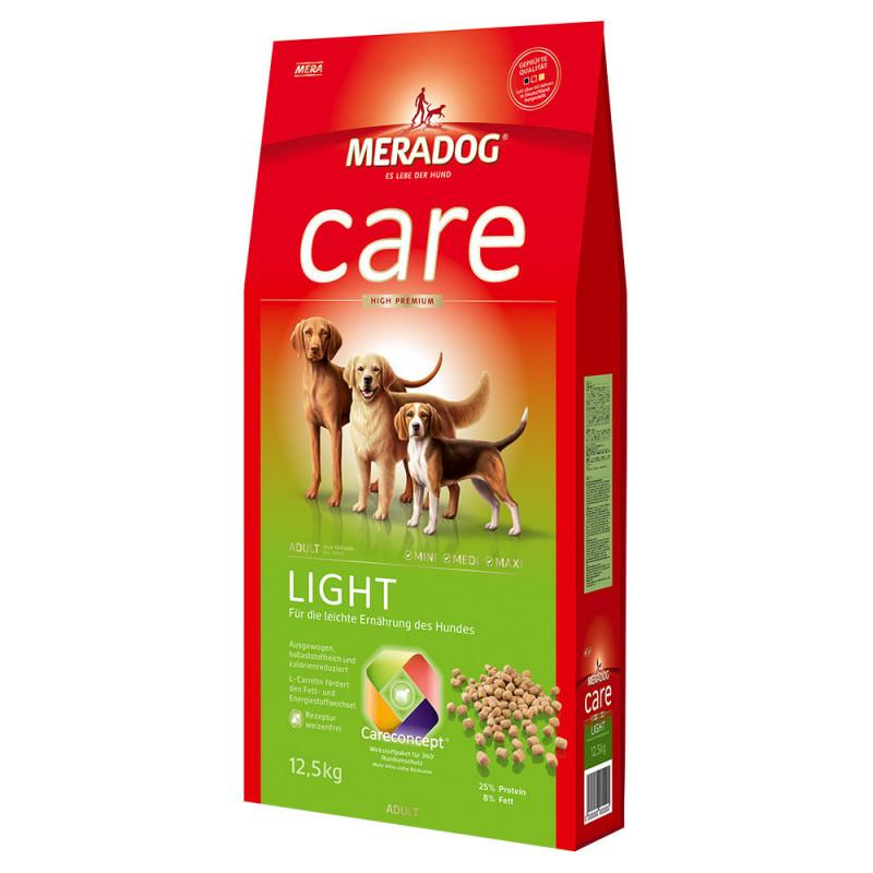 Сухой корм Meradog Care Light для собак с избыточным весом