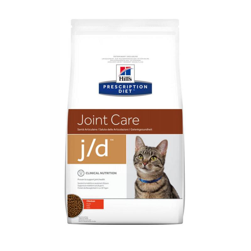 Hill's (Хиллс) Prescription Diet j/d Joint Care - Корм-диета для кошек с курицей ЗДОРОВЬЕ СУСТАВОВ