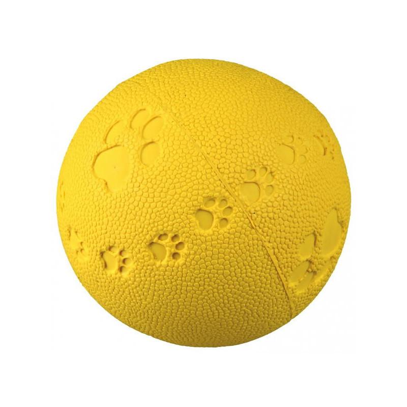 """Trixie (Трикси) Мяч """"Лапки"""" из натурального каучука"""