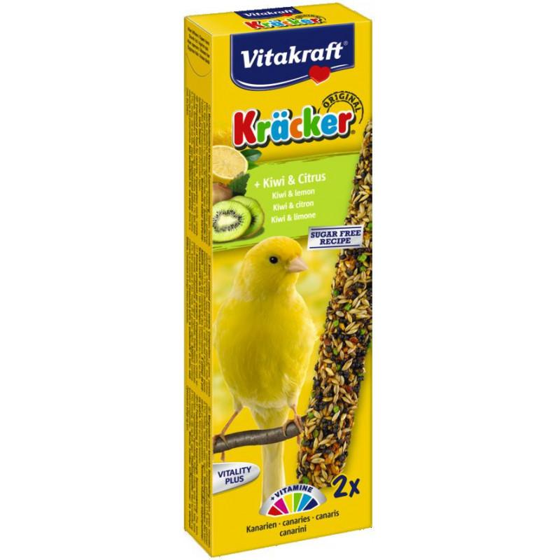 Крекер VITACRAFT для канареек с киви и цитрусами