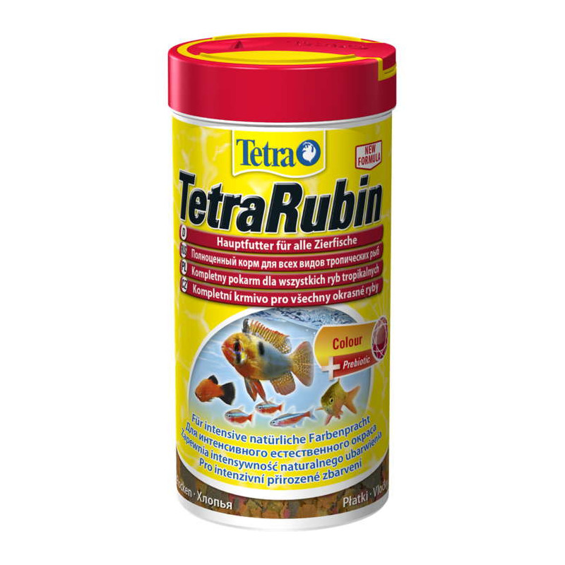 TETRA (Тетра) RUBIN. Корм для усиления окраса аквариумных рыб