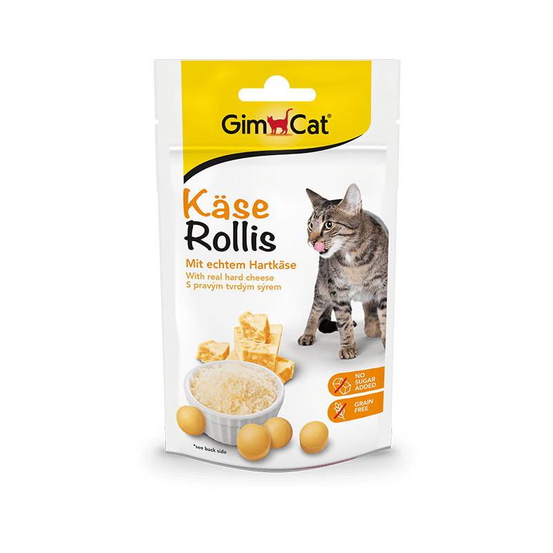 Gimcat (джимКэт) Kase-Rollis - Общеукрепляющий комплекс для котов с сыром