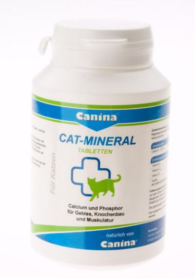 Таблетки Canina Cat-Mineral Минеральная добавка для кошек - Фото 2