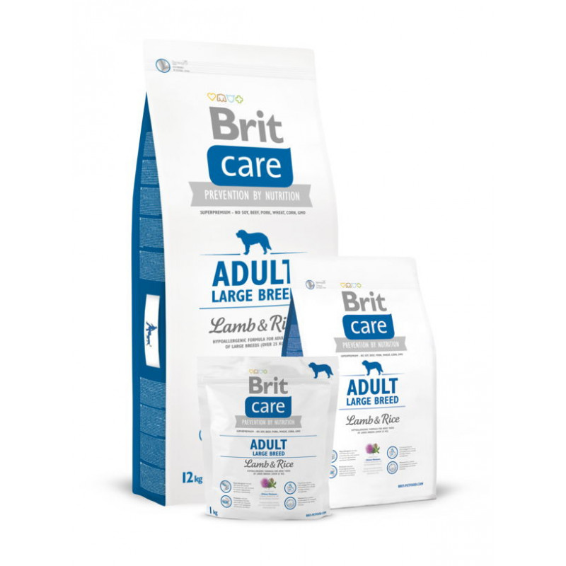 Brit Care (Брит Кеа) ADULT LARGE BREED Lamb&Rice для собак крупных пород (ягненок/рис)