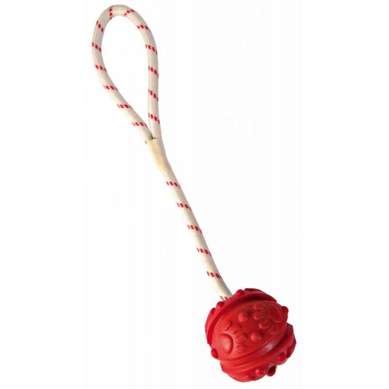 Trixie (Трикси) Мяч апортировочный на веревке, плавающий