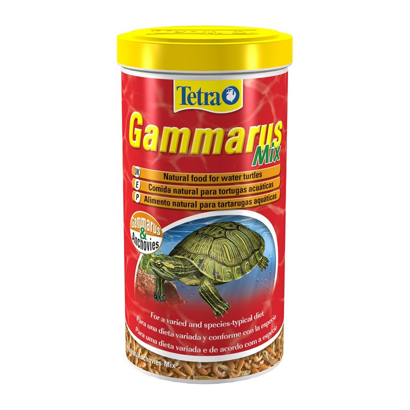 Корм TETRA GAMMARUS MIX для черепах