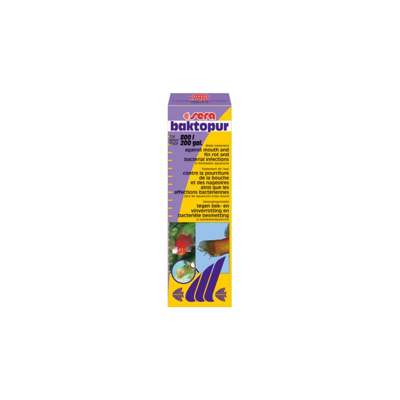Антибактериальное средство SERA BACTOPUR для рыб