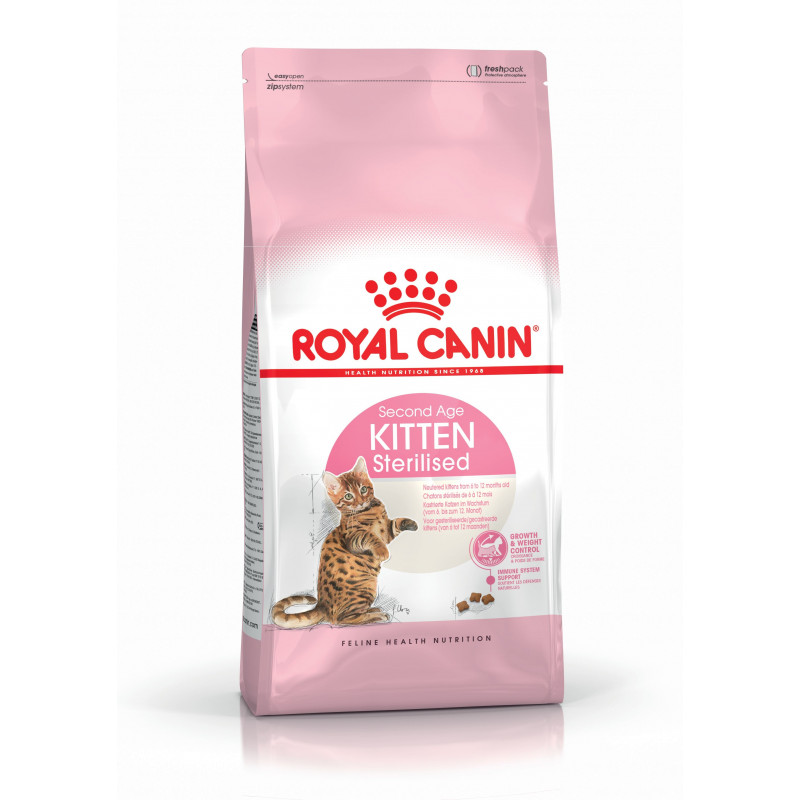 Royal Canin (Роял Канин) Kitten Sterilised - Сухой корм с птицей для котят после стерилизации