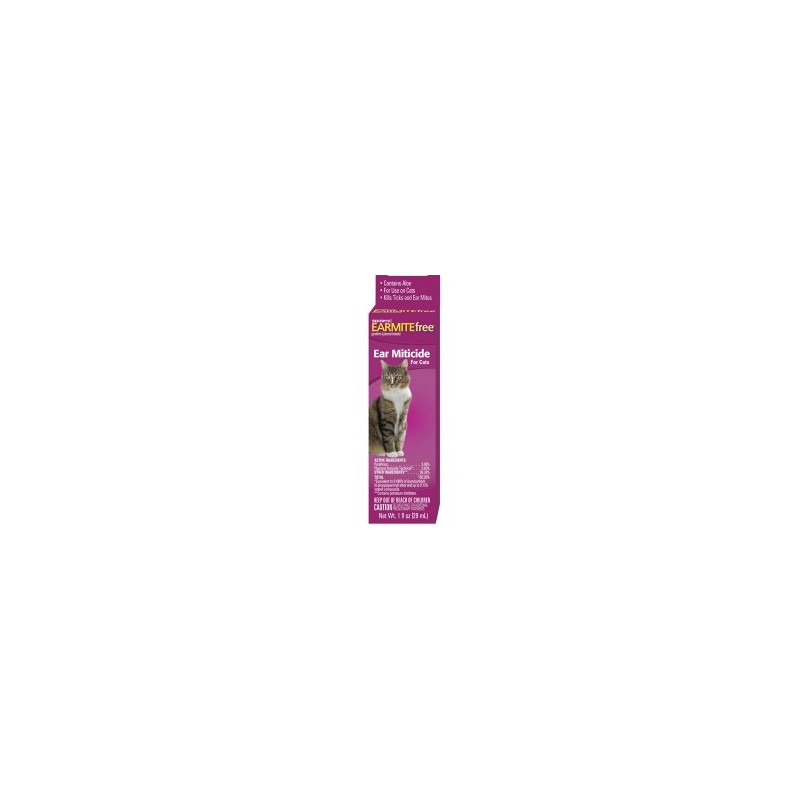 SENTRY (Сентри) Earmite free капли от ушного клеща для котов
