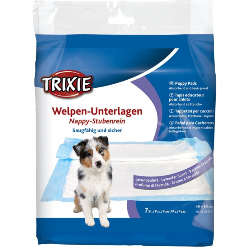 Пелёнки гигиенические Trixie для собак с лавандой