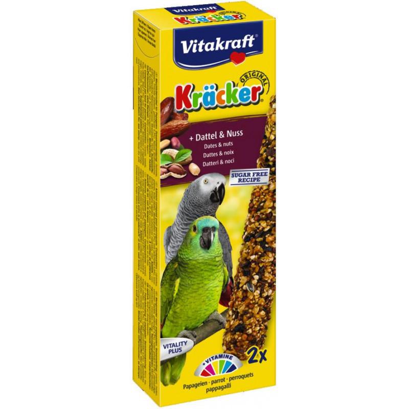 Крекер VITACRAFT для попугаев с фруктами и орехами
