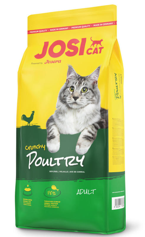 JosiCat (ЙозиКэт) by Josera Crunchy Poultry - Сухой корм с нежным мясом домашней птицы для котов