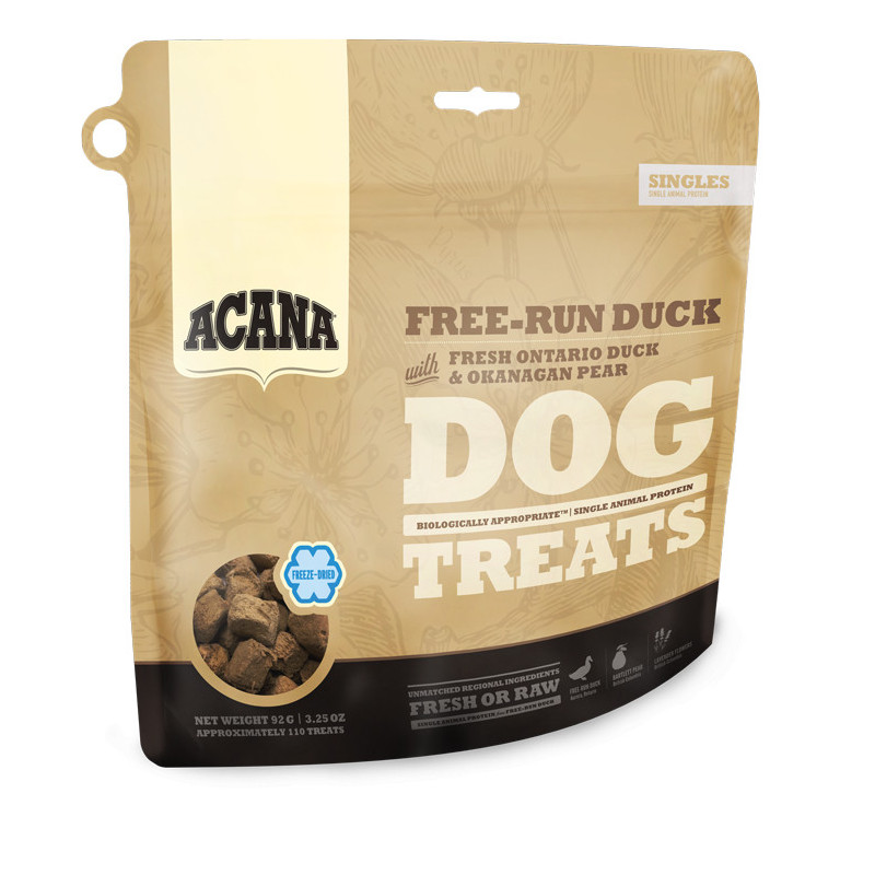 Acana FREE-RUN DUCK  (Утка и груша) - лакомства для собак
