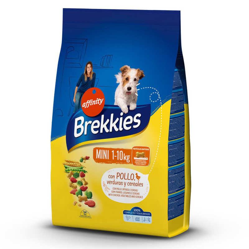 Brekkies (Брекис) Dog Mini Adult Сухой корм для взрослых собак малых пород с курицей и овощами