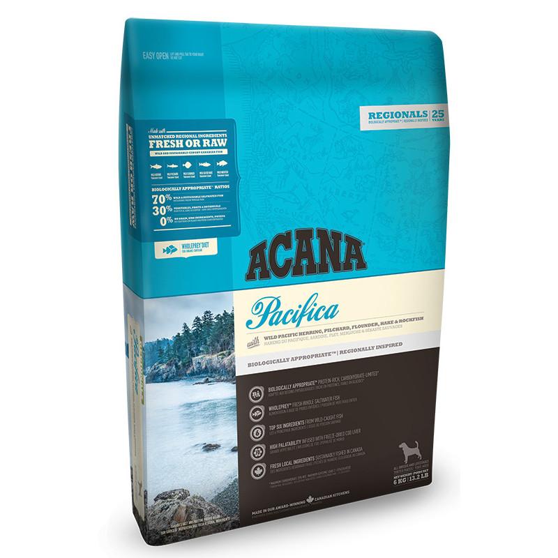 Acana (Акана) Pacifica Dog - Сухой корм с рыбой для собак всех пород и возрастов