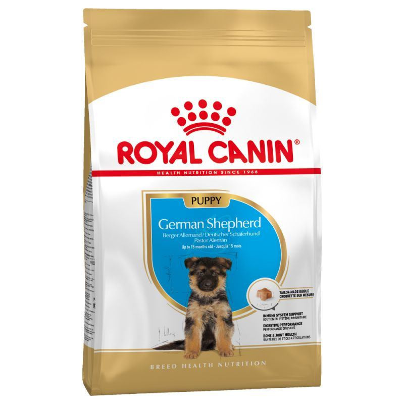 Royal Canin German Shepherd Puppy для щенков немецкой овчарки