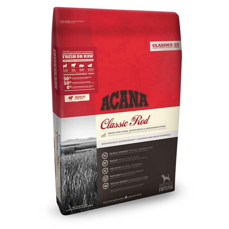 Acana (Акана) Classic Red  Сухой корм для собак различных пород на всех стадиях жизни