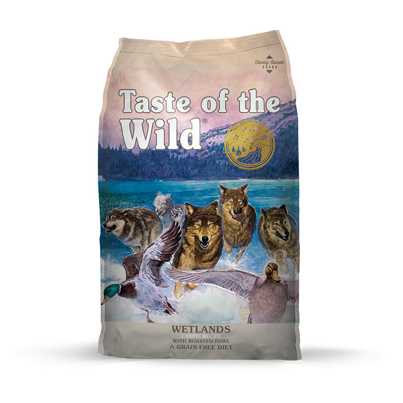 Taste of the wild (Тейст оф зе вилд) Wetlands canine formula - Сухой корм с мясом жареной дичи для собак