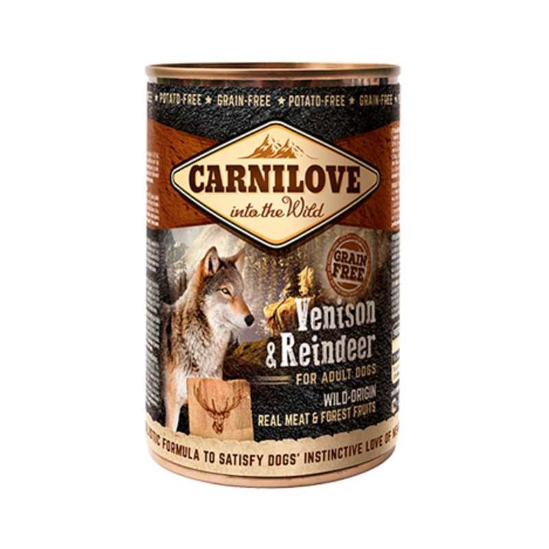 Carnilove (Карнилав) Venison & Reindeer for Adult Dogs - Консервы с мясом северного оленя для взрослых собак