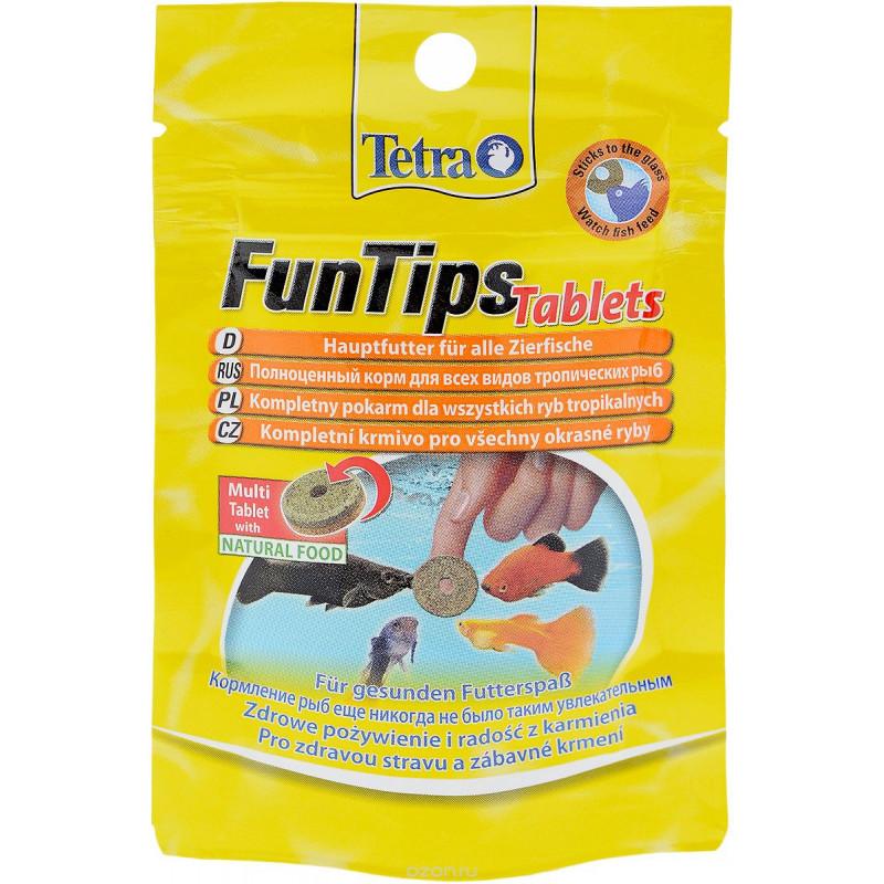 Корм-таблетки TETRA FUN TIPS TUBLETS для рыб