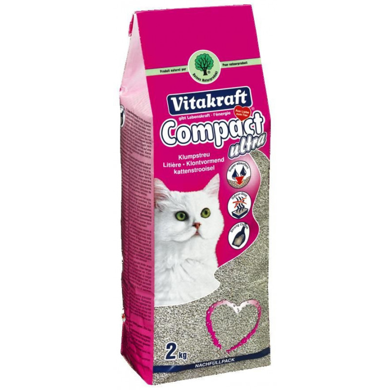 VITACRAFT COMPACT ULTRA - Наполнитель кошачий для туалета