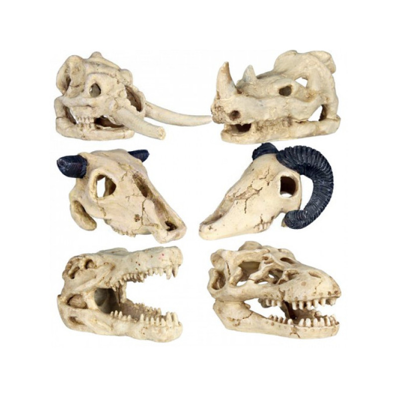 Черепа животных TRIXIE для декора аквариума