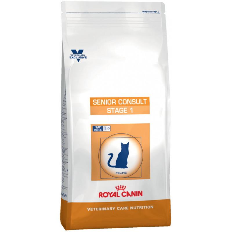 Royal Canin (Роял Канин) Senior Consult Stage 1 - Ветеринарная диета для кошек старше 7 лет без видимых признаков старения