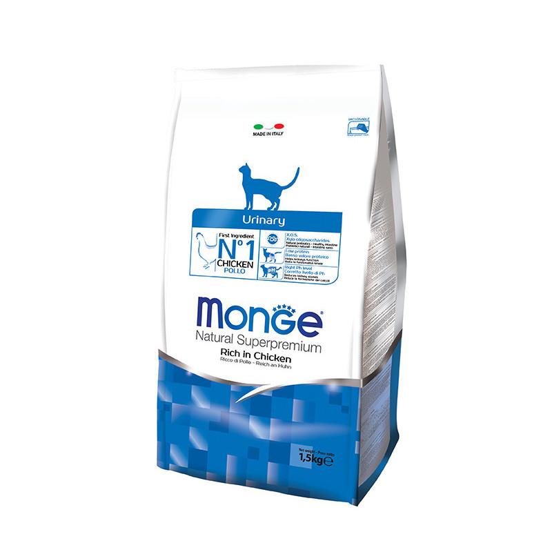 Monge (Монже) Urinary Rich in Chicken - Сухой корм с курицей для кошек, профилактика мочекаменной болезни