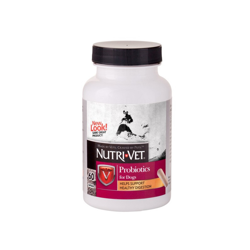 Добавка Nutri-Vet probiotics для нормализации пищеварения у собак