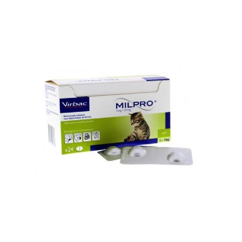 Милпро (Milpro) - противопаразитный препарат для котят