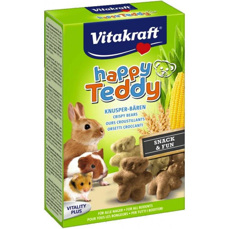 Лакомство VITACRAFT HAPPY TEDDY для всех видов грызунов со злаками и овощами