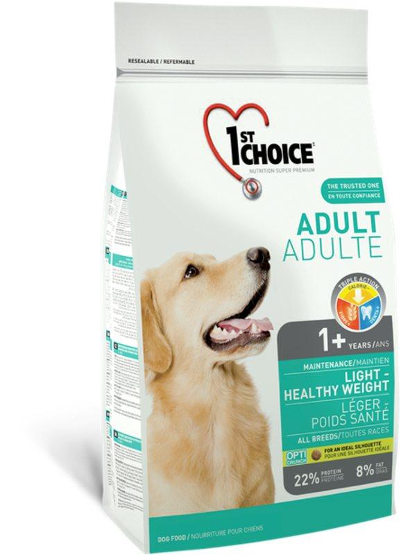 1st Choice (Фест Чойс) Light - Сухой малокалорийный корм с курицей для взрослых собак