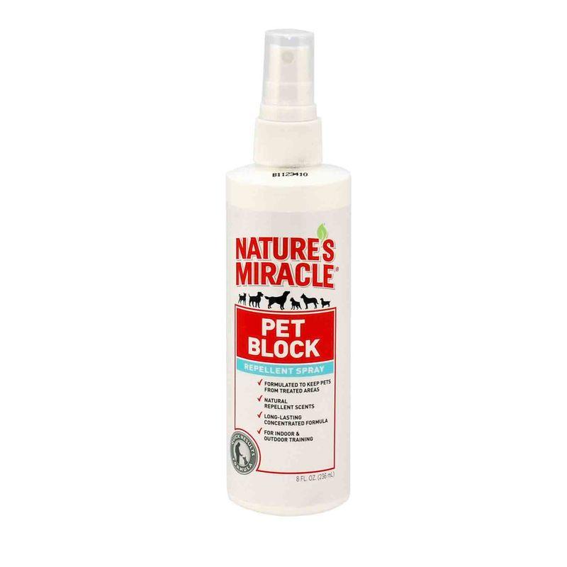 Nature's Miracle (Нейчерс Миракл) Pet Block - Спрей для собак, отпугивающий