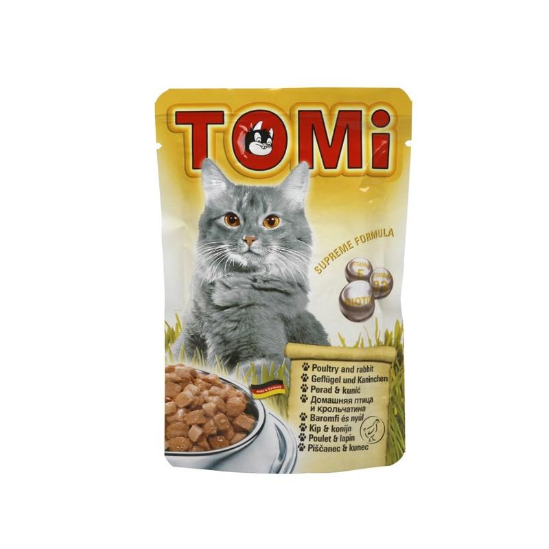 TOMi (Томи) poultry & rabbit - Пауч с птицей и кроликом для котов