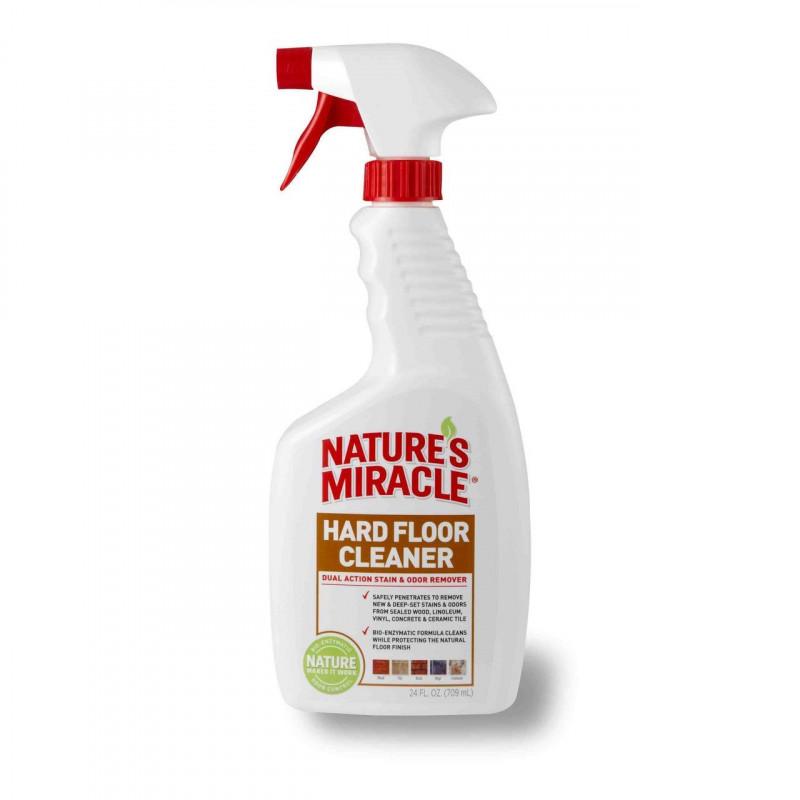 Nature's Miracle  (Нейчерс Миракл) Hard Floor Cleaner Уничтожитель пятен и запахов для полов