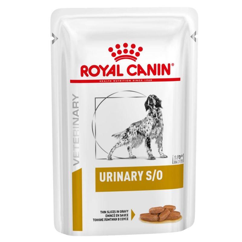 Royal Canin (Роял Канин) Urinary S/O - Консервированный корм для собак при заболеваниях мочевыделительной системы (дольки в соусе)