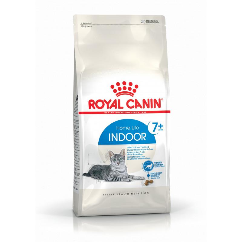 Royal Canin (Роял Канин) Indoor 7 plus - Сухой корм с птицей для домашних стареющих кошек
