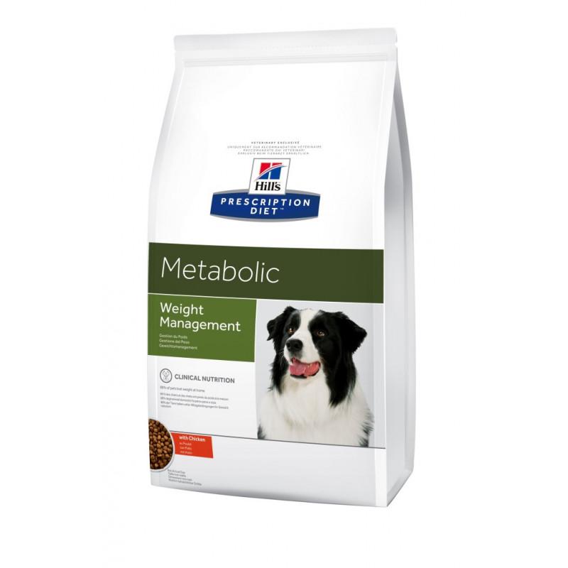 Hill's (Хиллс) Prescription Diet Metabolic Weight Management - Корм-диета для собак с курицей ОЖИРЕНИЕ / ИЗБЫТОЧНЫЙ ВЕС
