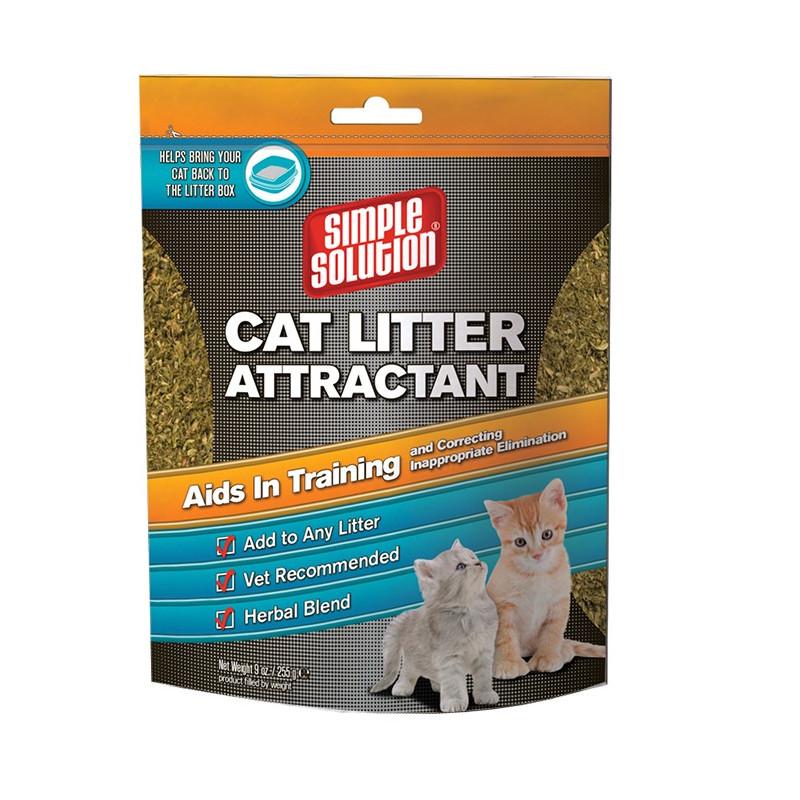 Simple-solution (Симпл-Солюшн) Cat litter attractant - Привлекатель для кошачьих наполнителей