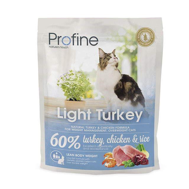 Profine (Профайн) Cat Light - Сухой корм с индейкой для контроля веса котов и кошек - Фото 3