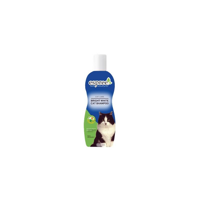Шампунь Bright White Cat Shampoo для кошек белого и светлых окрасов
