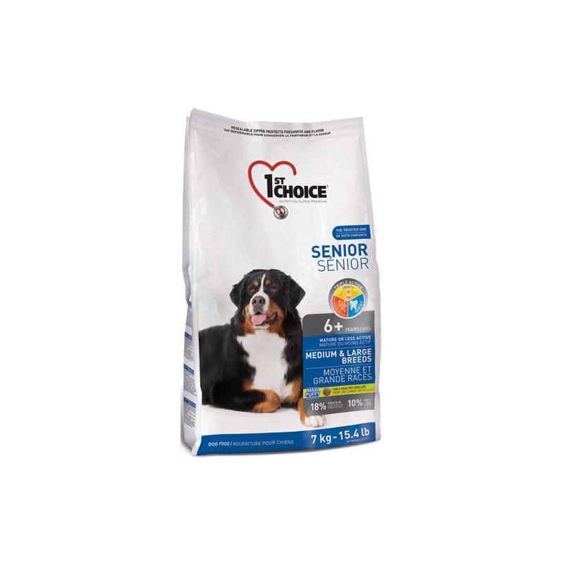 1st Choice(Фест Чойс) Senior Medium&Large Breeds - Сухой корм с курицей для стареющих собак средних и крупных пород