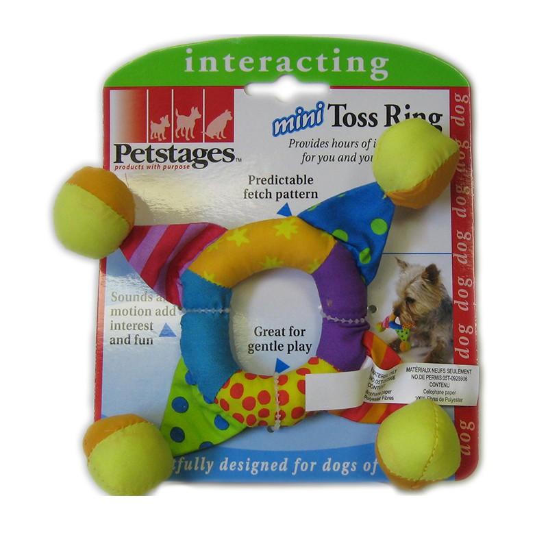 PETSTAGES Mini Toss Ring Игрушка для собак